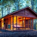 ESCAPE RV Canoe Bay - Rustic Eco Retreat - Small House - Humble Homes