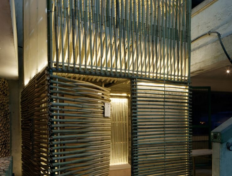 Bamboo Micro Housing Proposal - AFFECT-T - Micro House - Humble Homes