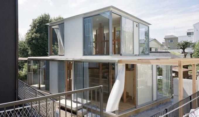 Double Circular Rings - Todoroki - Teppei Fujiwara Architects Labo - Small House Japan - Humble Homes