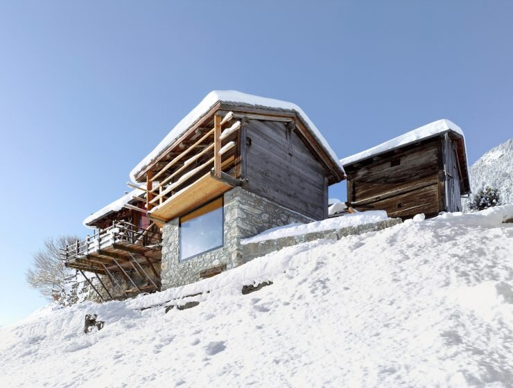 Boisset House in Switzerland by Savioz Fabrizzi Architectes - Exterior - Humble Homes