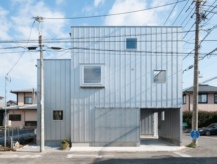House in Chiba - Yuji Kimura Design - Small House - Japanese House - Exterior - Humble Homes