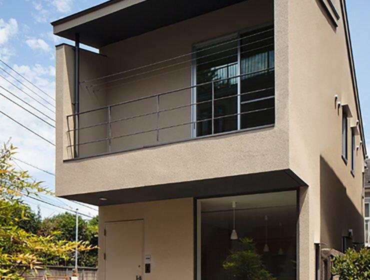 Nakano Fireproof Wooden House - Masashi Ogihara - Nakano, Japan - Small Japanese House - Exterior - Humble Homes