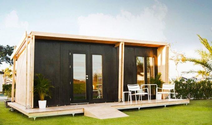 viVood - Prefab House by Daniel Mayo Pardo - Spain - Tiny House - Exterior - Humble Homes