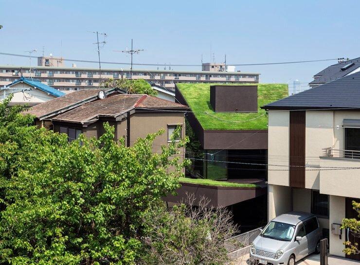 Makiko Tsukada Architects - Grass Cave House - Japan - Exterior - Humble Homes