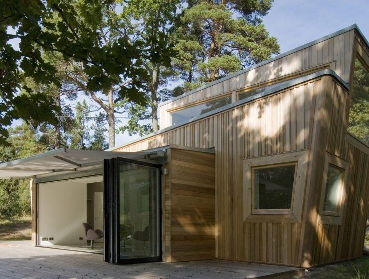The Wood House - Schlyter + Gezelius Arkitektkontor - Small House - Sweden - Exterior - Humble Homes