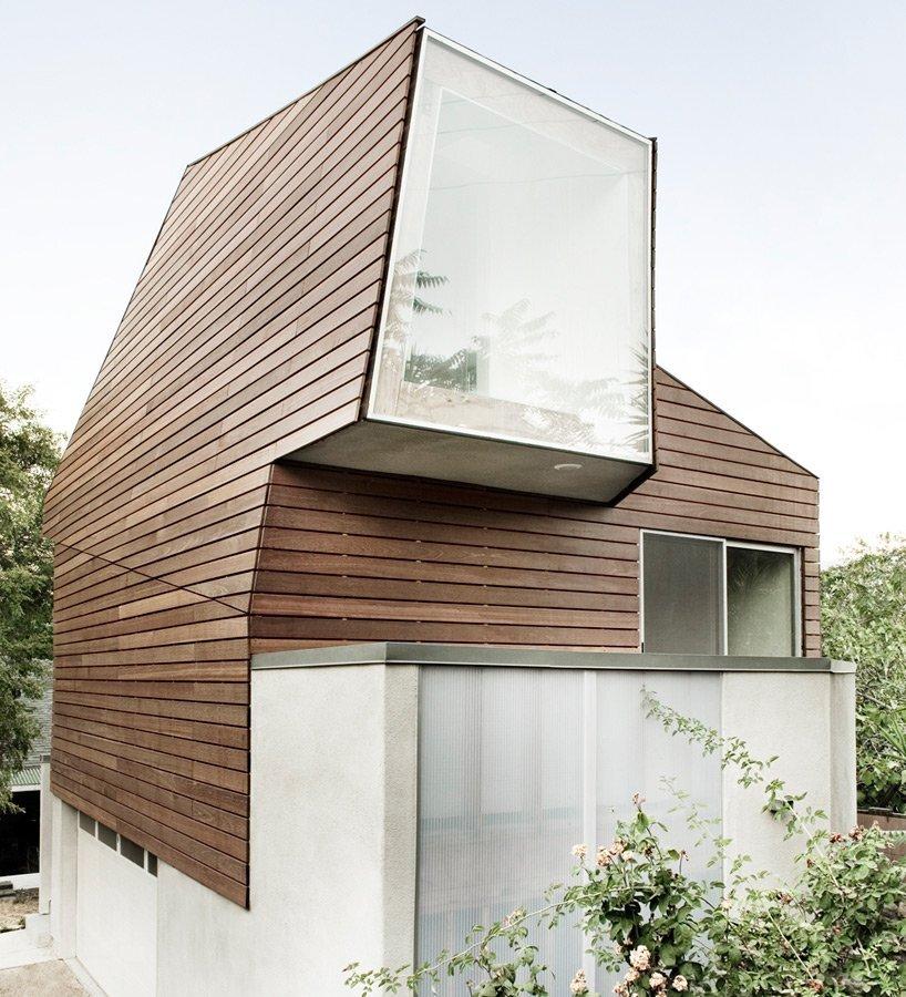 Warren Techentin Architecture - Montrose Duplex - Small House - Exterior - Humble Homes