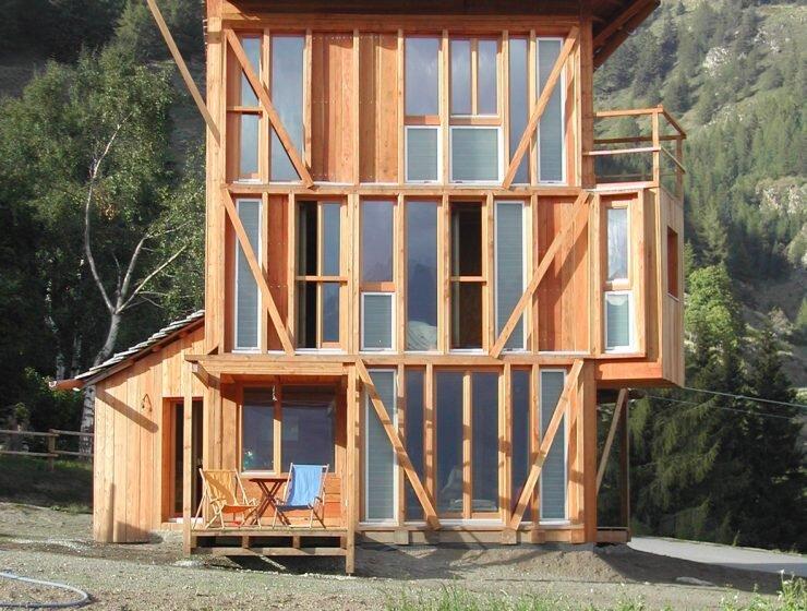 Solar House - Solar Powered Home - Studio Albori - Italy - Exterior - Humble Homes