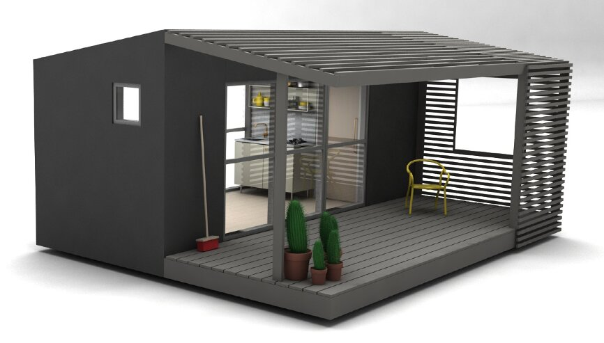 Mini house 2 0 tiny house jonas wagell sweden exterior humble homes