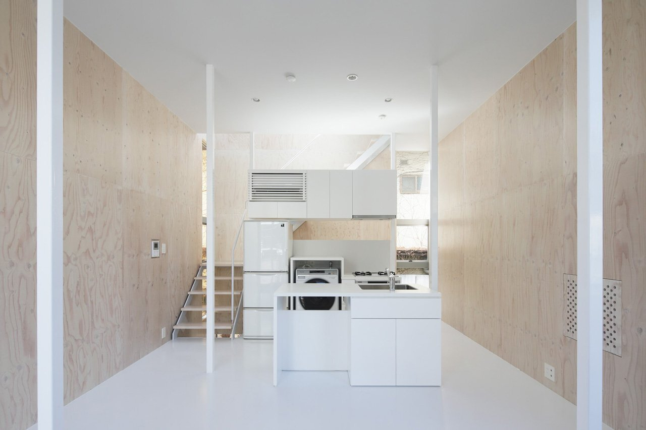 House SH - A Simple, Bright & Airy Home in Tokyo