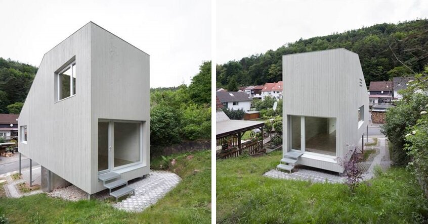 A Tiny House In Germany By Architekturburo Scheder