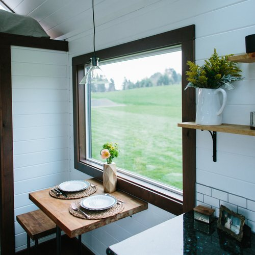 Turtle Tiny House Dining