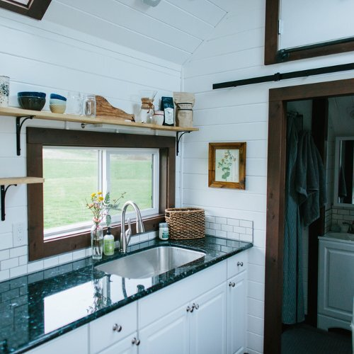 Turtle Tiny House Kitchen