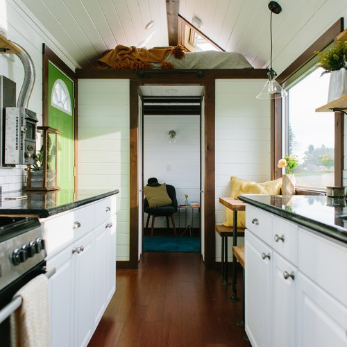 A Tiny House With A Bedroom