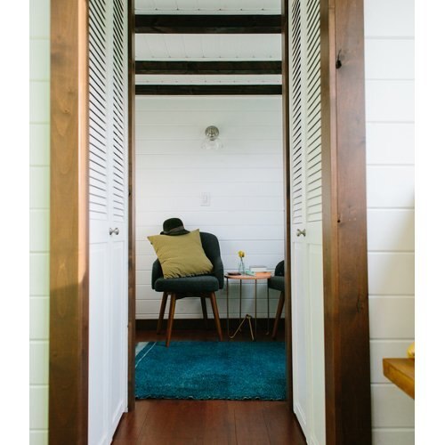 Turtle Tiny House Storage Closets