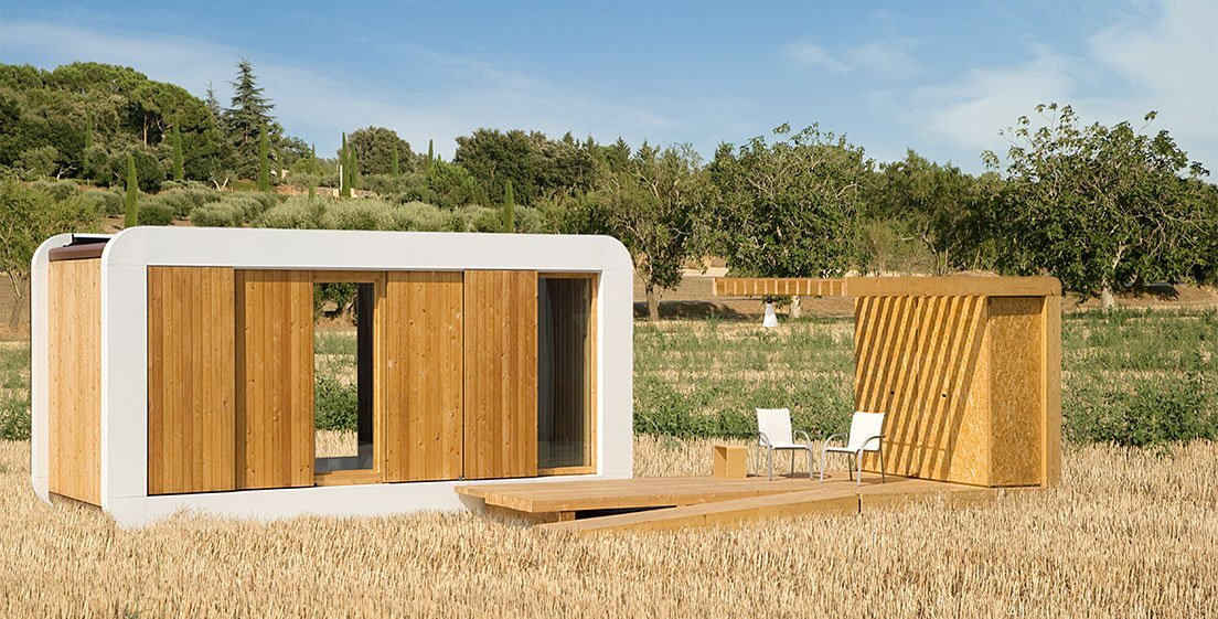 Studio Go Is A Prefab Tiny House By Noem In Barcelona