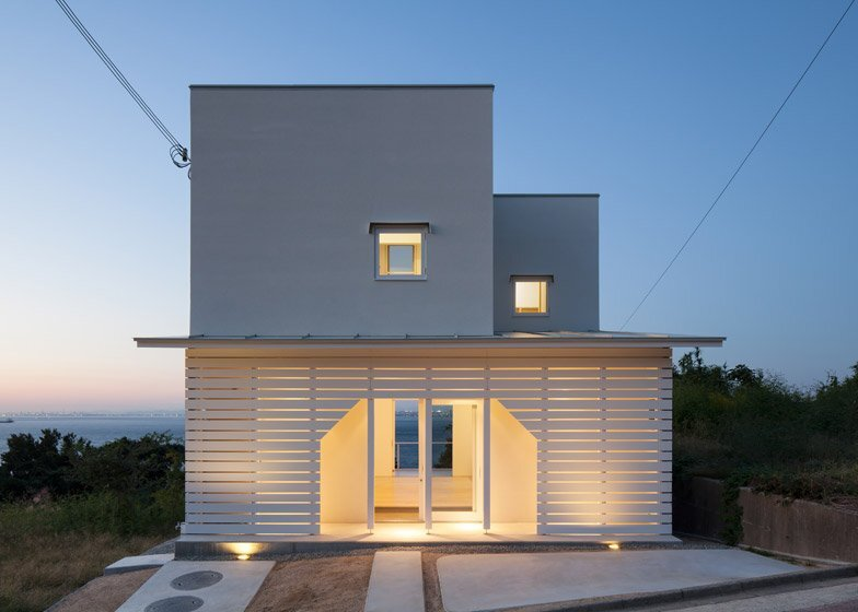 A Small And Simple Family House On The Japanese Island Of Awaji
