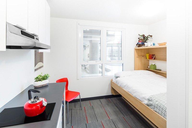 Nano Studio A 140 Square Foot Micro Apartment For Students