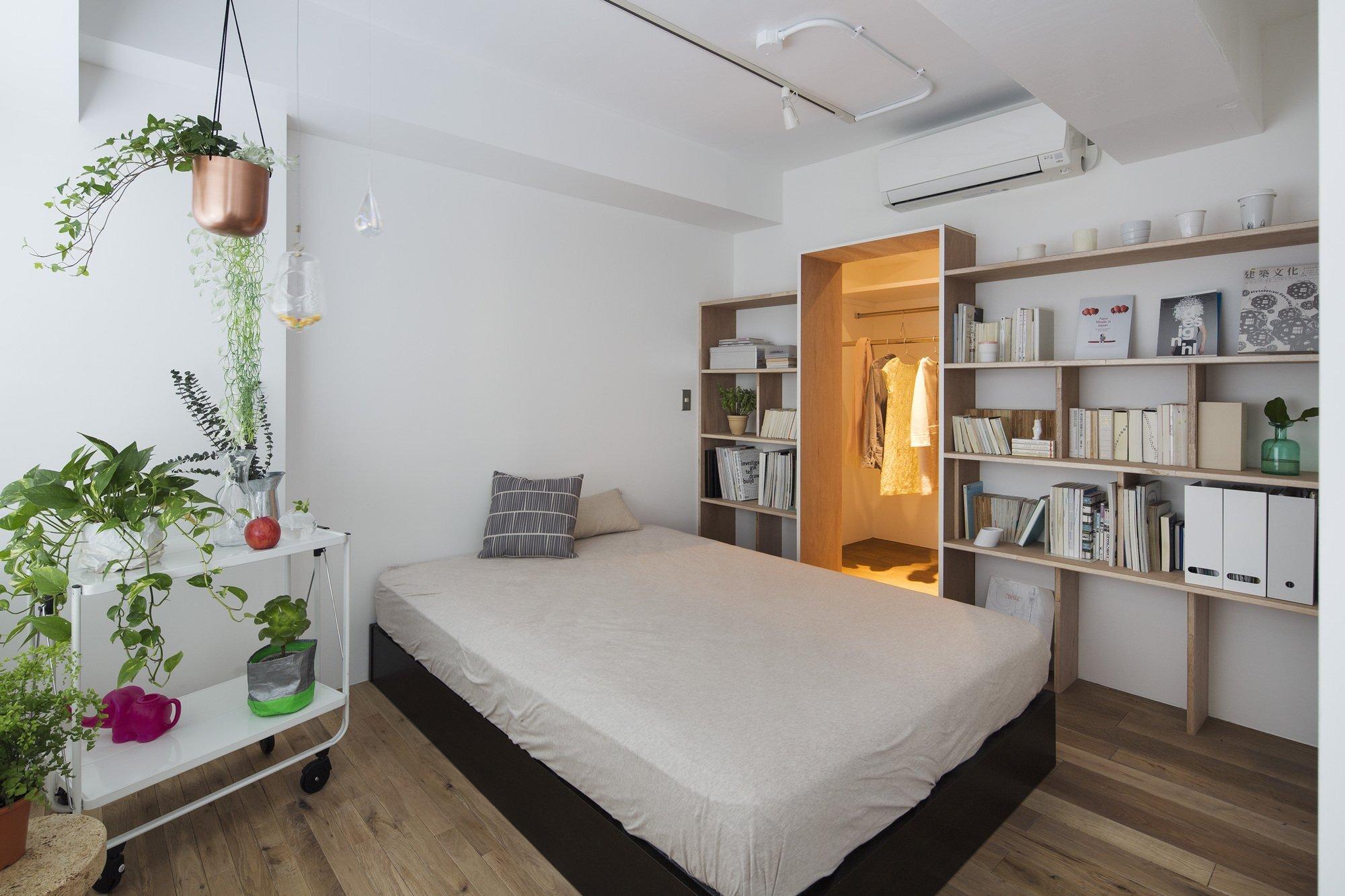 Opera   Taka Shinomoto And Voar Design Haus   Small Apartment In Tokyo    Bedroom
