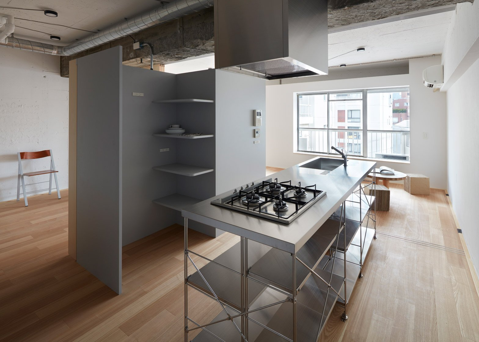 Small Apartment   FrontOfficeStudio   Tokyo   Kitchen   Humble Homes