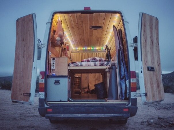 Sprinter Van Conversion To Cozy Tiny Home By Cyrus Sutton