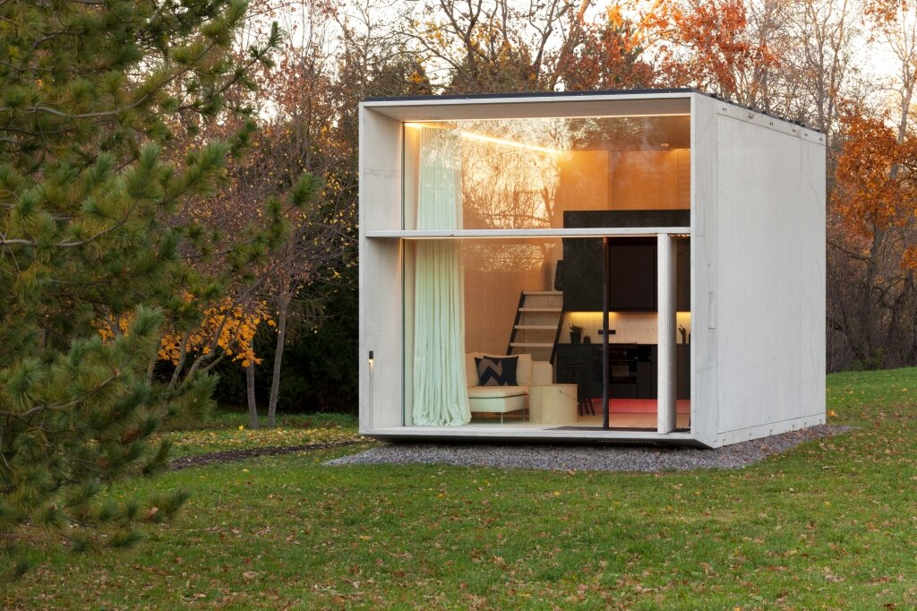 Koda - A Small Prefab Home that Mixes Design and Technology