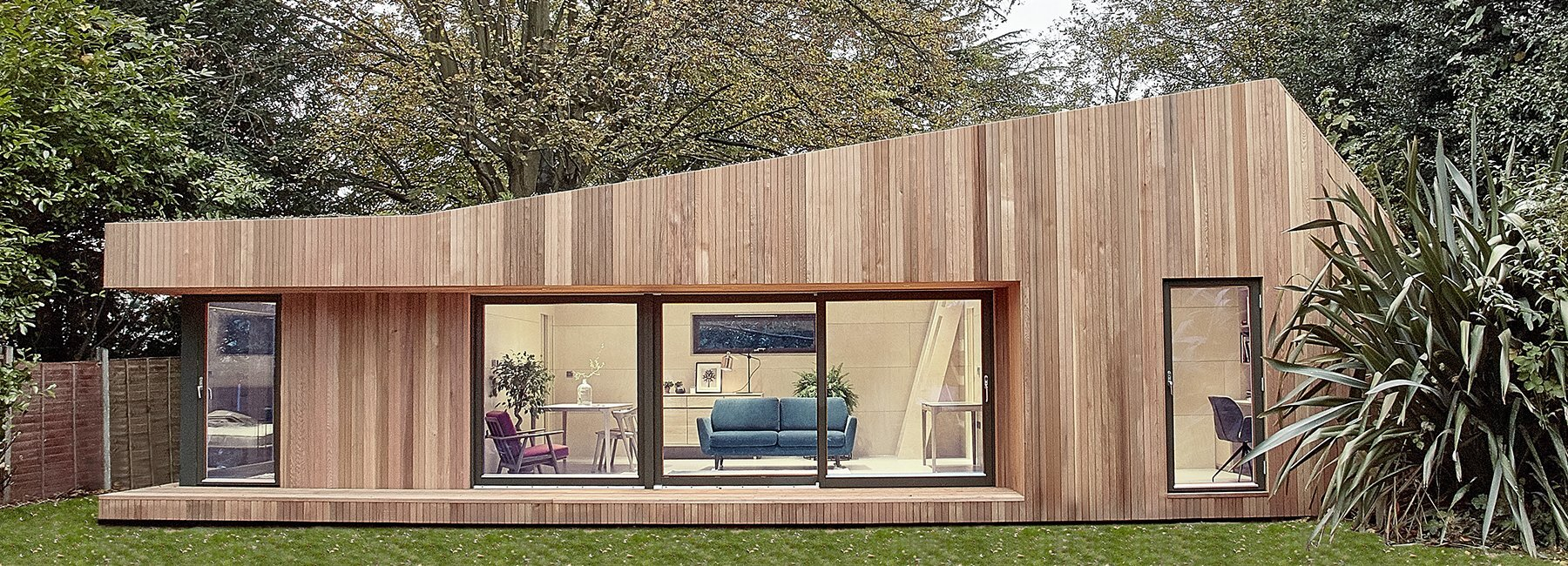 an environmentally friendly prefab house by ecospace. Black Bedroom Furniture Sets. Home Design Ideas