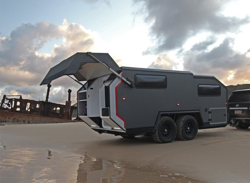 Exp 6 An Off Road C er By Bruder For Luxurious Getaways on cabin plans