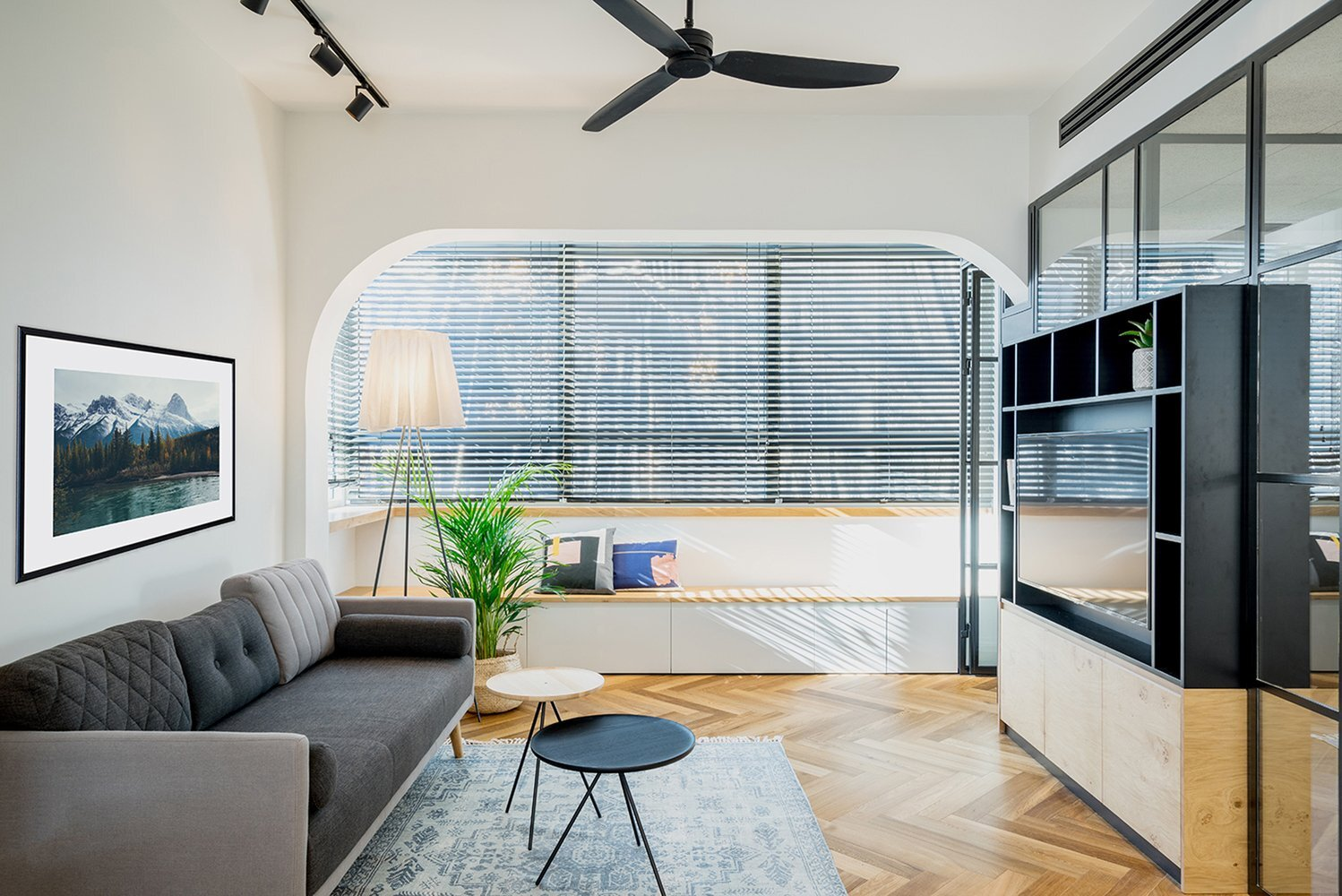 Work and Live - RUST Architects - Israel - Living Room - Humble Homes