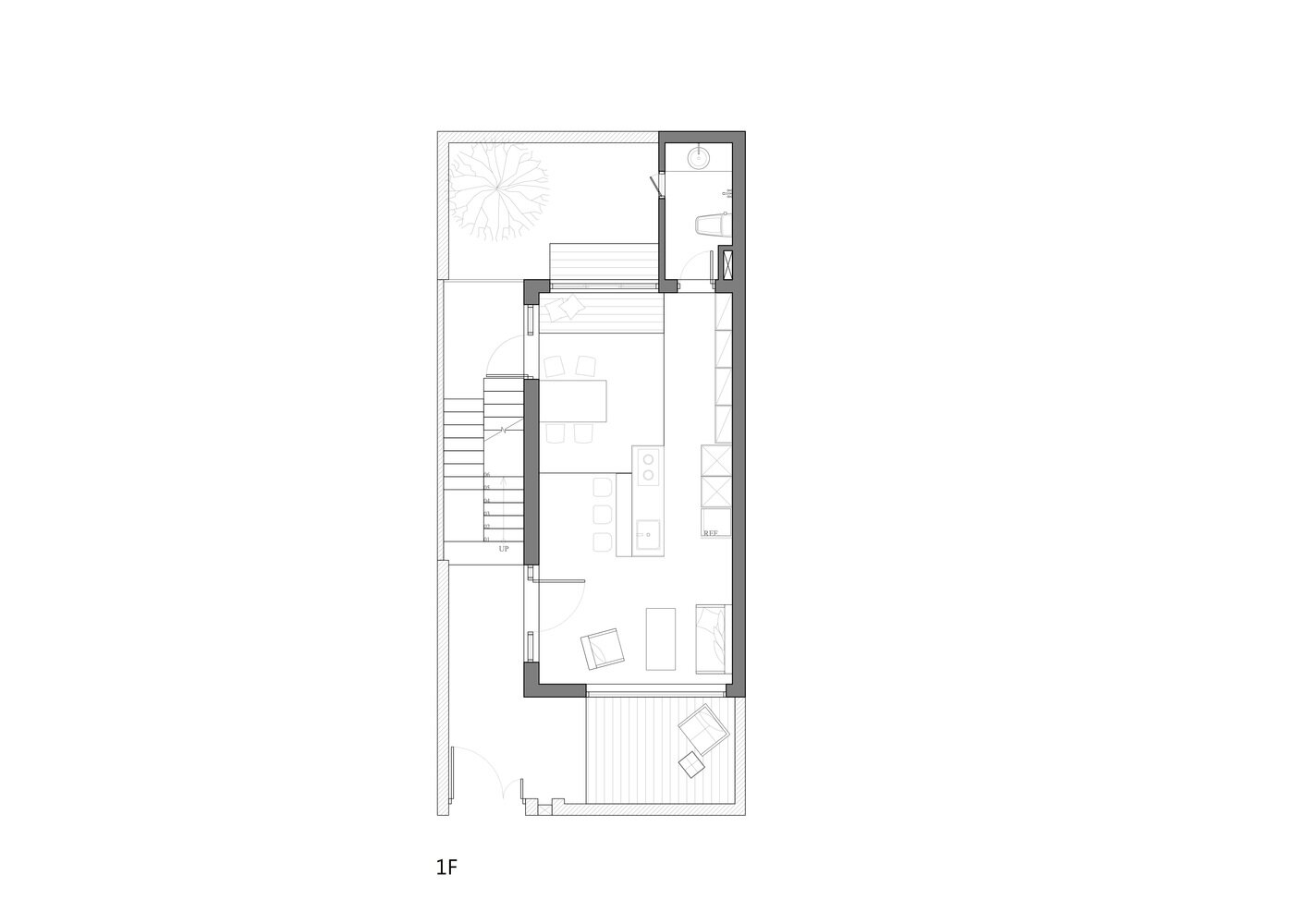House H - HAO Design - Taiwan - Floor Plan 2 - Humble Homes