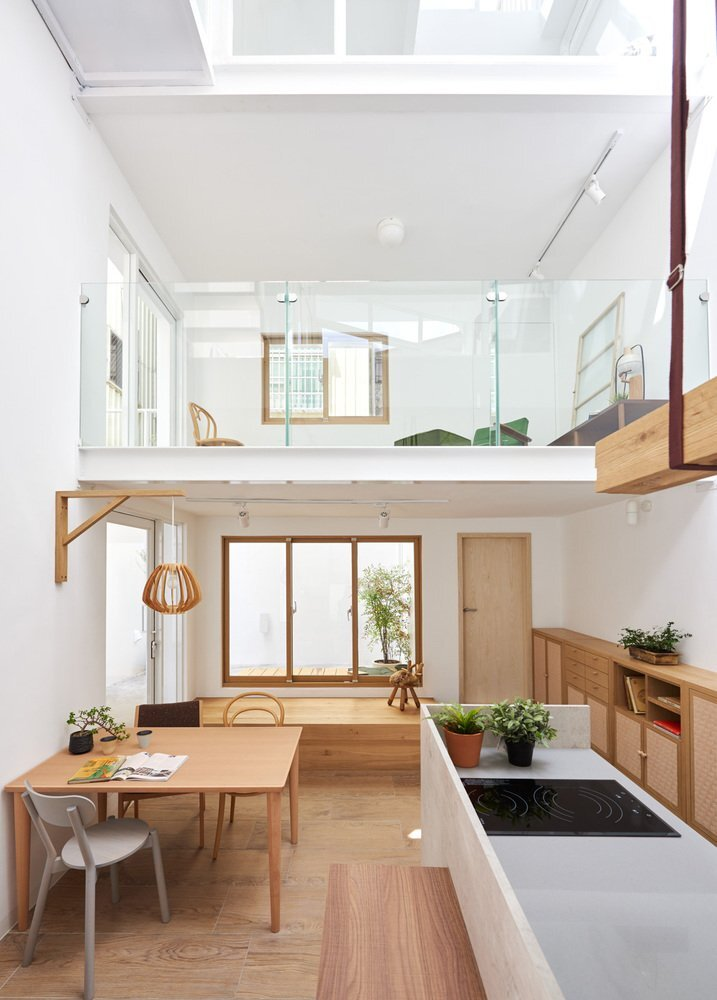 House H - HAO Design - Taiwan - Living Area - Humble Homes
