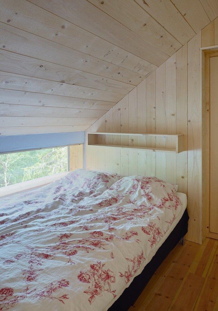 Ljungdalen-Lowén-Widman-Arkitekter-Sweden-Bedroom-Humble-Homes