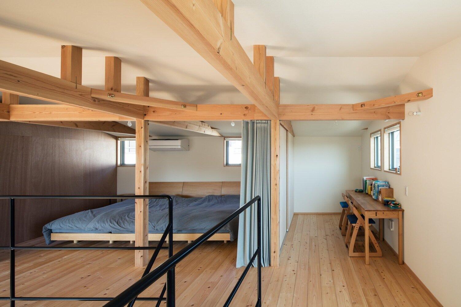 S-House - Coil Kazuteru Matumura Architects - Japan - Bedroom - Humble Homes