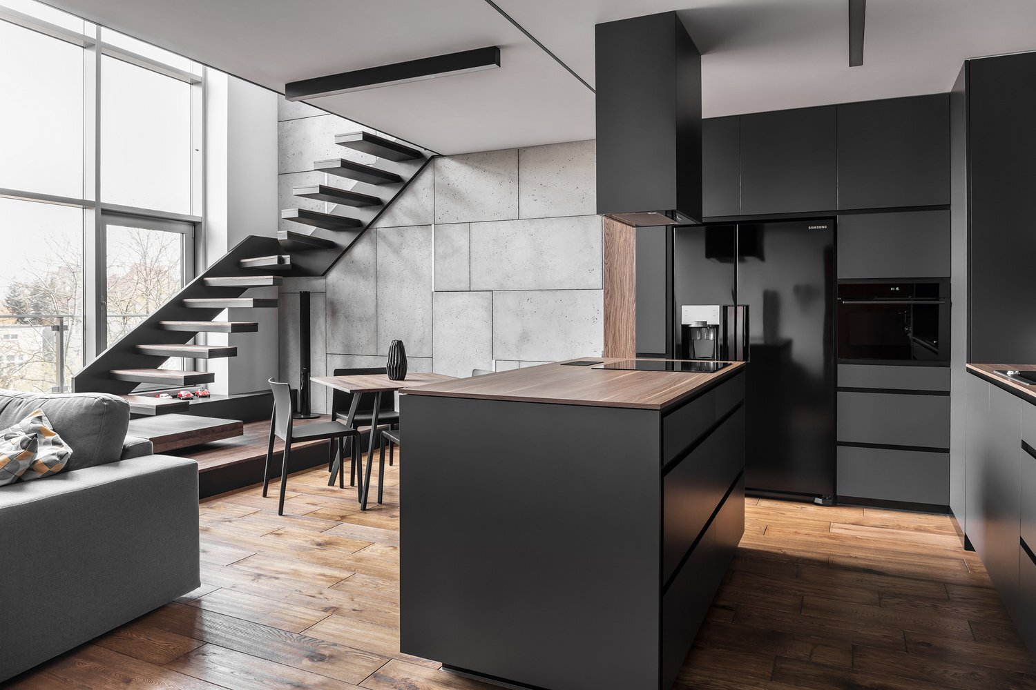 Apartment For A Guy And Even Two Of Them Metaforma Poland Kitchen Humble Homes