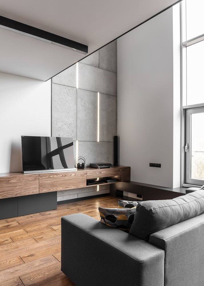 Apartment For A Guy And Even Two Of Them Metaforma Poland Living Room Humble Homes