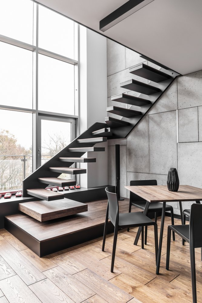 Apartment For A Guy And Even Two Of Them Metaforma Poland Staircase Humble Homes