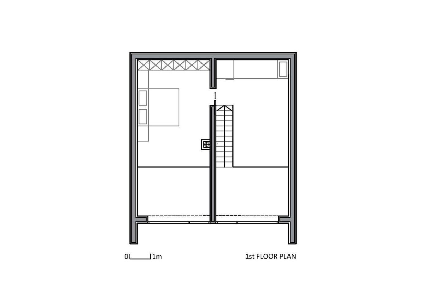 The Wooden House studio PIKAPLUS Slovenia Floor Plan 2 Humble Homes