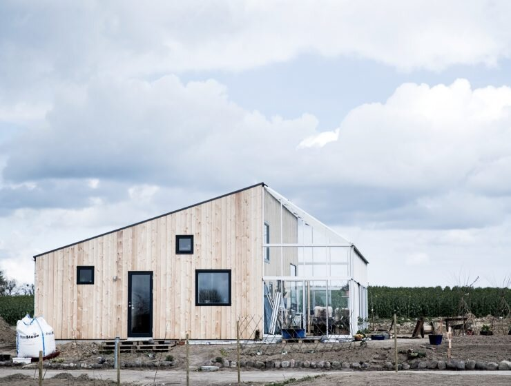 The Green House U2013 A Small Sustainable Home From Denmark By Sigurd Larsen