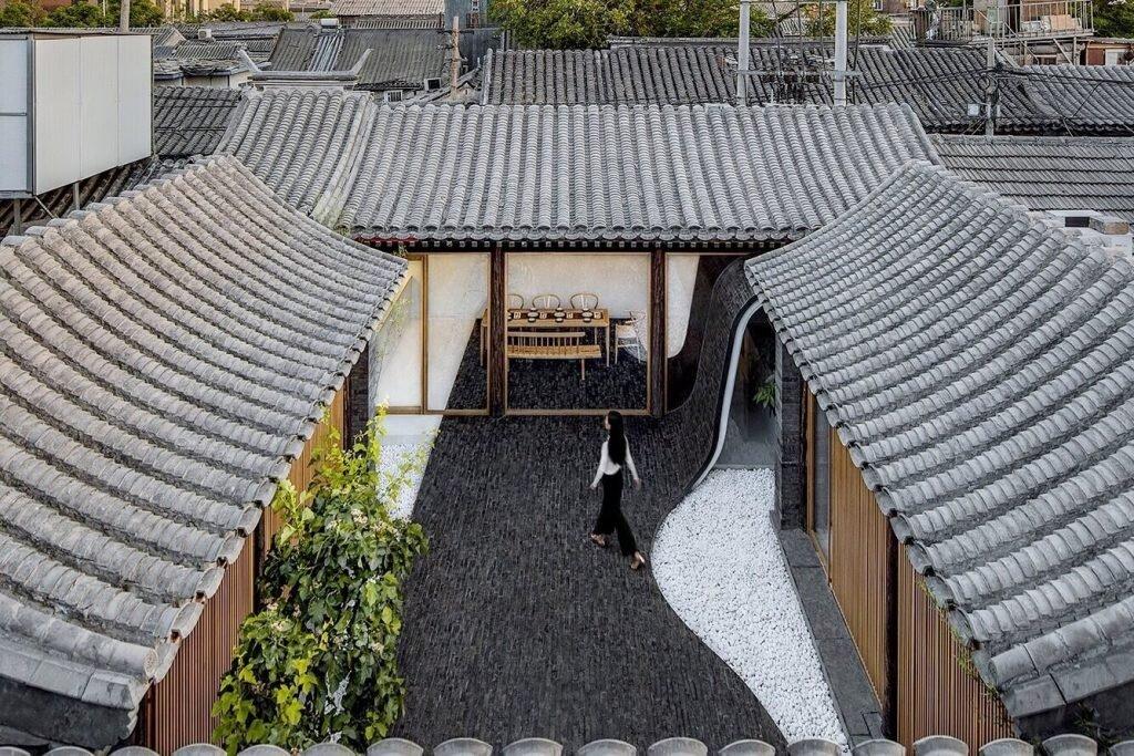 Beijing Courtyard Home By Archstudio Balances Modern And
