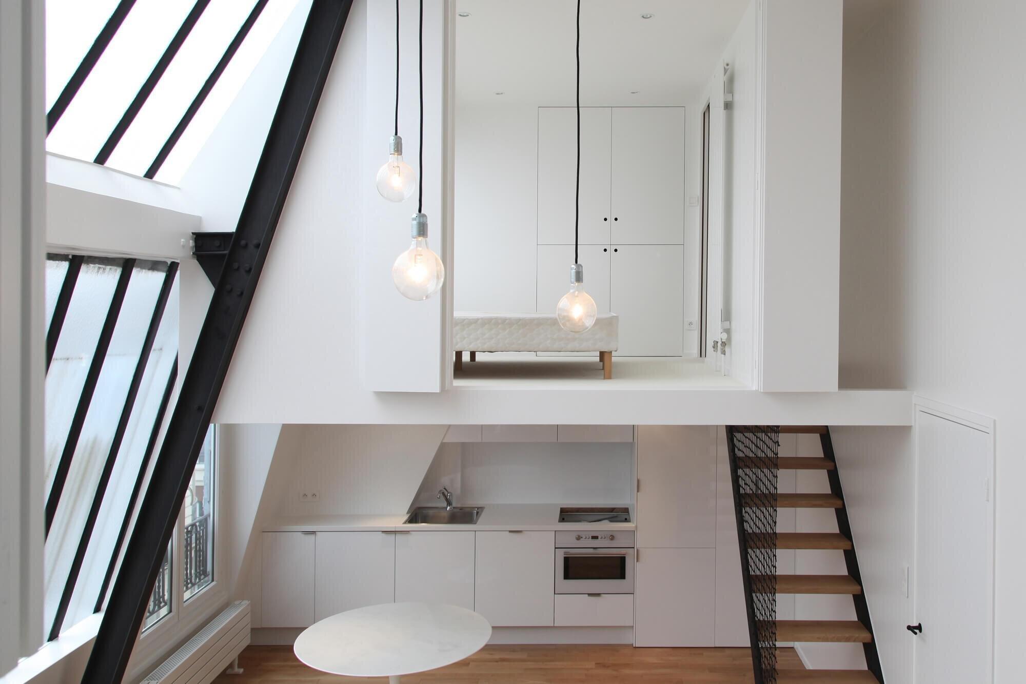 Loft L Parisian Artist S Studio Transformed Into A