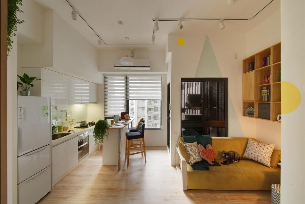 Hey-A-Lovely-Tiny-Space-ALENTIL-DESIGN-Taiwan-6-Humble-Homes