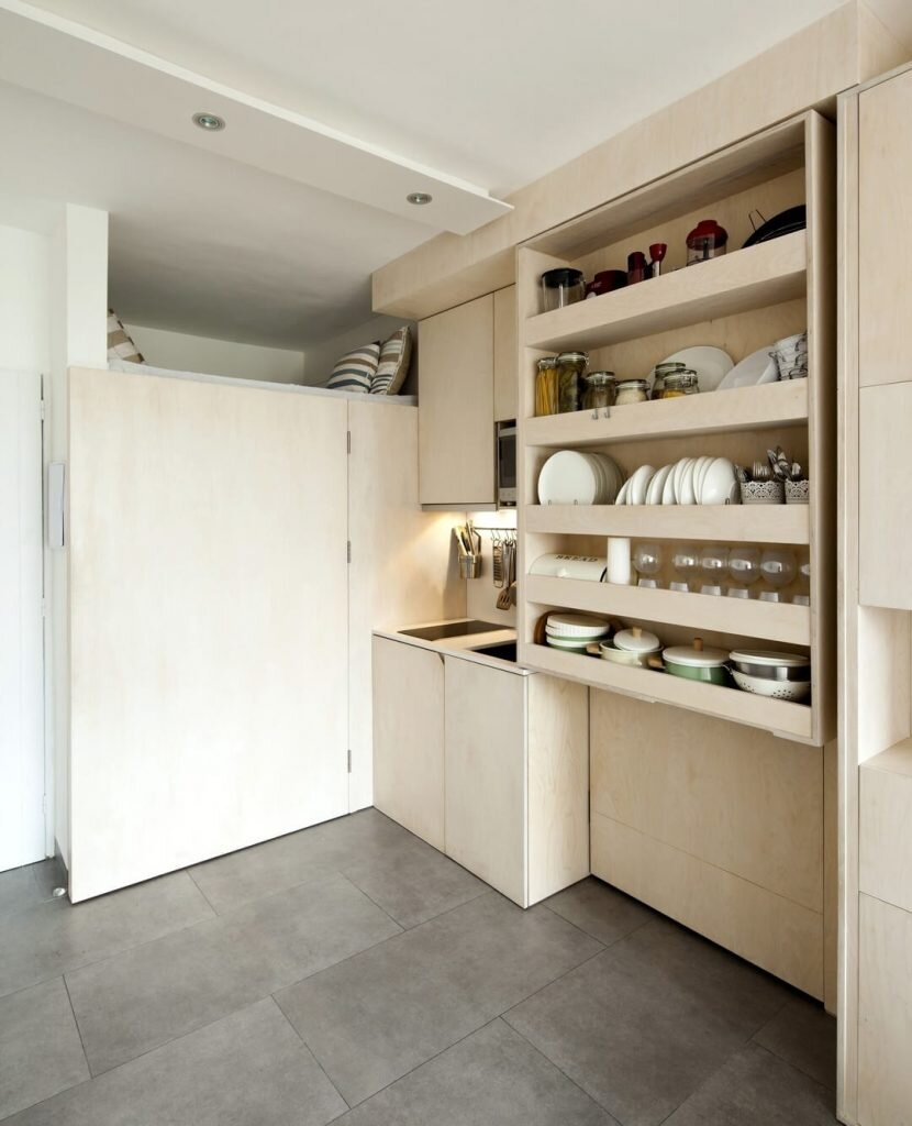 Multifunctional Storage Unit