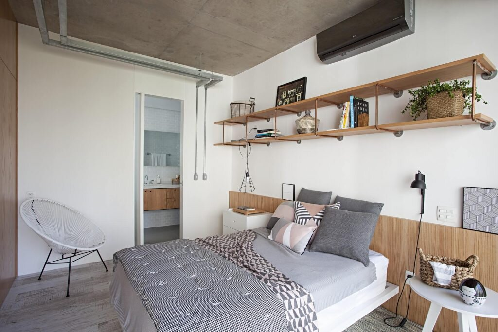 Apartment-with-Partitions-Casa100-Arquitetura-Brazil