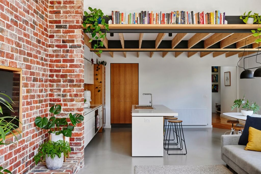 Miraculous Melbourne Vernacular Hundred Year Old Workers Cottage Home Interior And Landscaping Eliaenasavecom