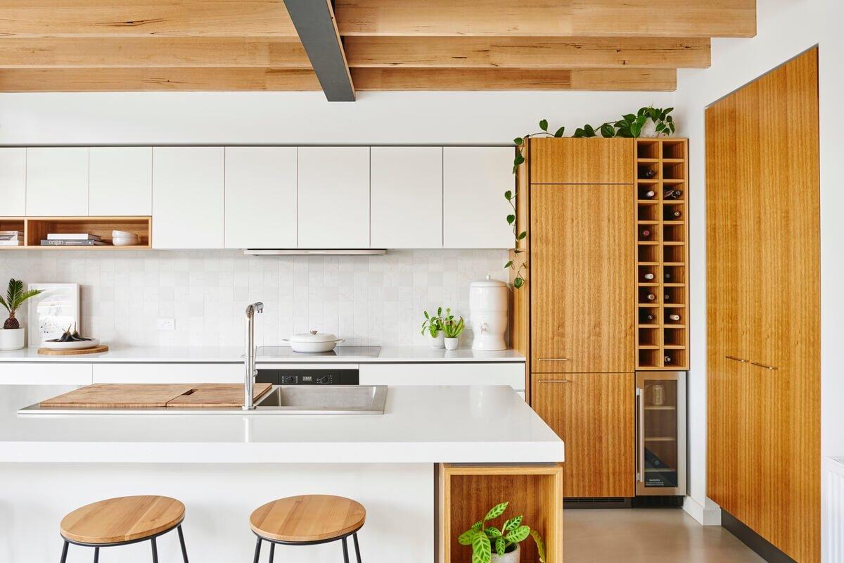 Fantastic Melbourne Vernacular Hundred Year Old Workers Cottage Home Interior And Landscaping Eliaenasavecom