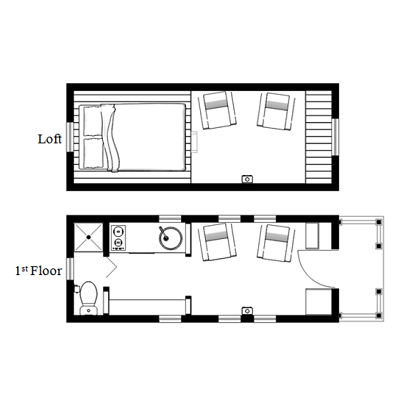 Tiny House Plans Designed to Make the Most of Small Spaces on cottage floor plans, studio floor plans, home floor plans, small house plans, tiny houses on wheels, great tiny house plans, travel trailer floor plans, shed house plans, shipping container floor plans, tiny houses one story, architecture floor plans, tiny house plans 20x20, cabin house plans,
