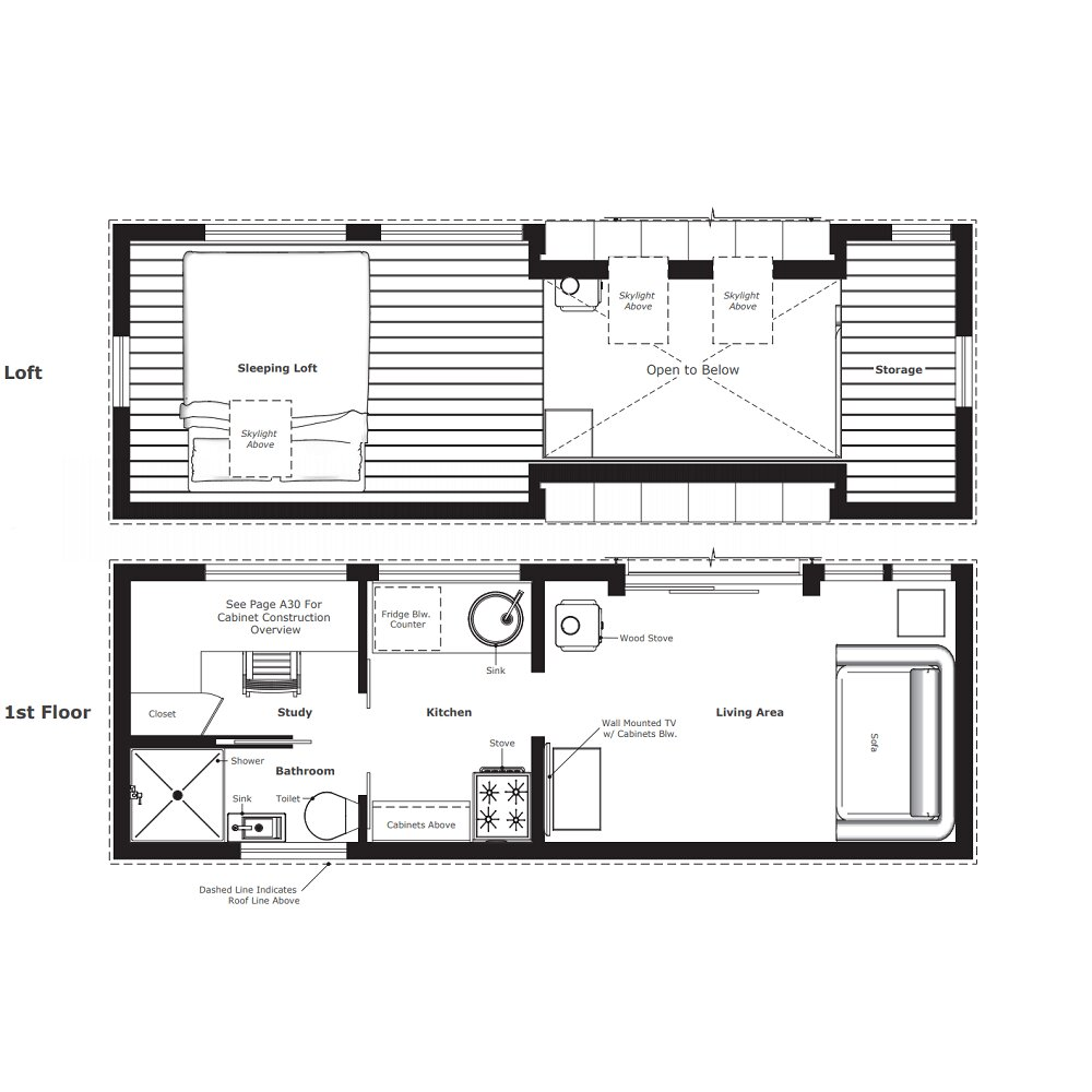 Fantastic Tiny House Plans Designed To Make The Most Of Small Spaces Download Free Architecture Designs Scobabritishbridgeorg